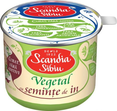 Scandia – Szendvicskrém lenmaggal – 200 g