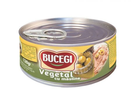 Bucegi – Növényi szendvicskrém –Olivás – 120 g