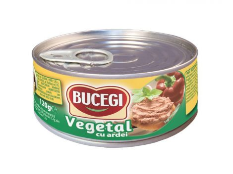 Bucegi – Növényi szendvicskrém – Paprikás – 120 g