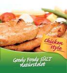 Goody Foody – Chicken Style VEGAN - csirkehús ízű szelet – NATÚR 400g