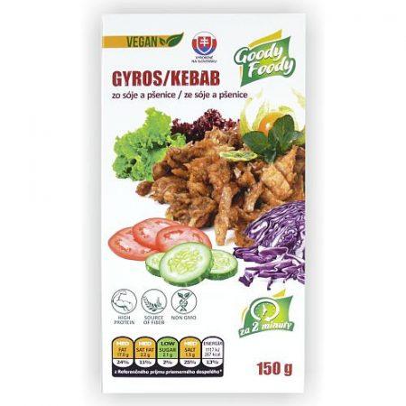 Goody Foody - VEGÁN - Gyros - Kebab - 150g