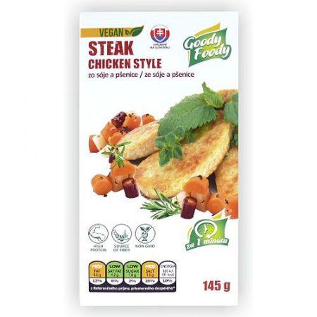 Chicken Style - VEGÁN csirkehús ízű SÜLT SZELET- (145g)