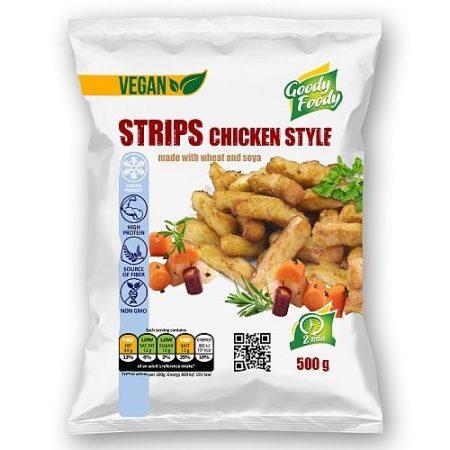 Goody foody - vegan metélt - csirkehús ízű - 500g mirelit