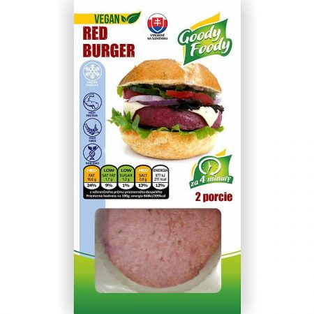 Goody Foody -Vegan Red Burger 226 g