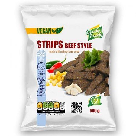 Goody foody - vegan metélt - marhahús ízű - 500g mirelit
