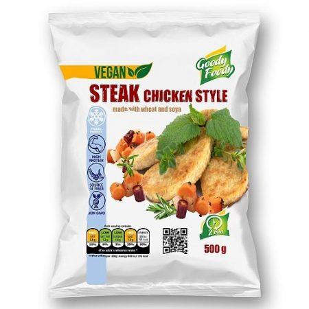 Goody foody - vegan szelet - csirkehús ízű - 500g mirelit