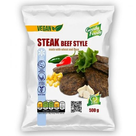 Goody foody - vegan szelet - marhahús ízű - 500g mirelit