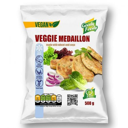 Goody foody - vegan szelet - zöldséges - 500g mirelit