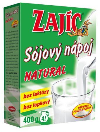 Zajic Szója Italpor natur_400 g
